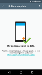 Sony Xperia XA - Android Nougat - Software updaten - Update installeren - Stap 6