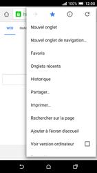 HTC One A9 - Internet et connexion - Naviguer sur internet - Étape 12