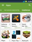 Motorola Master XT605 - Aplicativos - Como baixar aplicativos - Etapa 12