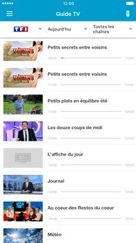 Apple iPhone 7 Plus - Photos, vidéos, musique - Regarder la TV - Étape 4