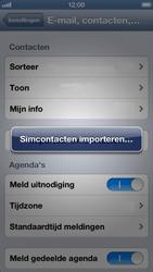 Apple iPhone 5 - Contacten en data - Contacten kopiëren van SIM naar toestel - Stap 5