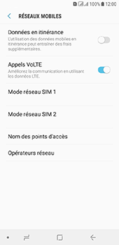 Samsung Galaxy A6 - MMS - configuration manuelle - Étape 7