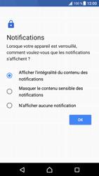 Sony Xperia XZ Premium - Sécuriser votre mobile - Activer le code de verrouillage - Étape 12