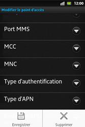 Sony ST27i Xperia Go - MMS - configuration manuelle - Étape 16