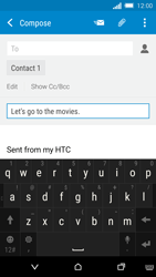 HTC One M8s - Email - Sending an email message - Step 9
