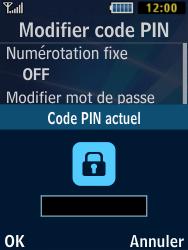 Samsung Solid 271 - Sécuriser votre mobile - Personnaliser le code PIN de votre carte SIM - Étape 6