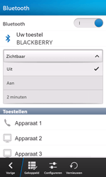 BlackBerry Z10 - Bluetooth - Aanzetten - Stap 7