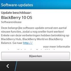 BlackBerry Q5 - Software update - update installeren zonder PC - Stap 5