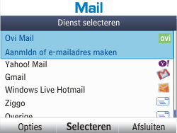 Nokia Asha 201 - E-mail - e-mail instellen: POP3 - Stap 5