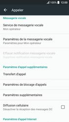 HTC U Play - Messagerie vocale - Configuration manuelle - Étape 5