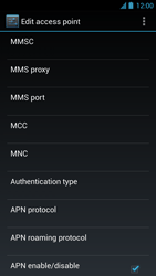Acer Liquid S1 - Mms - Manual configuration - Step 13