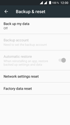 Crosscall Trekker M1 Core - Device - Reset to factory settings - Step 6