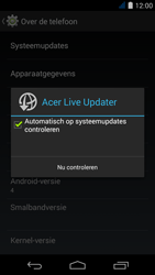 Acer Liquid Jade Z - Netwerk - Software updates installeren - Stap 7