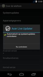 Acer Liquid Jade S - Netwerk - Software updates installeren - Stap 7