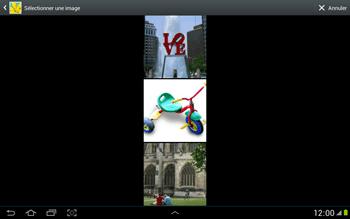 Samsung N8000 Galaxy Note 10-1 - MMS - envoi d'images - Étape 12