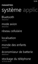 Nokia Lumia 520 - Internet - Désactiver les données mobiles - Étape 4