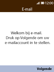 Nokia 8110 - E-mail - Account instellen (IMAP met SMTP-verificatie) - Stap 4