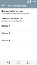 LG H320 Leon 3G - Réseau - utilisation à l'étranger - Étape 12