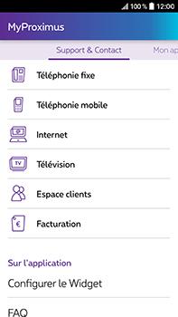 HTC Desire 825 - Applications - MyProximus - Étape 23