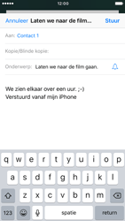 Apple iPhone 6 iOS 10 - E-mail - hoe te versturen - Stap 8