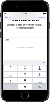 Apple iPhone X - Applications - Créer un compte - Étape 19