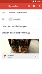 Nokia 5 - E-mail - Bericht met attachment versturen - Stap 15