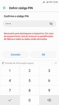 Huawei Mate 10 - Segurança - Como ativar o código de bloqueio do ecrã -  10