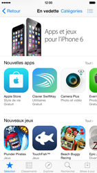 Apple iPhone 6 iOS 8 - Applications - Télécharger une application - Étape 3