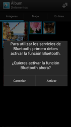 Sony Xperia J - Bluetooth - Transferir archivos a través de Bluetooth - Paso 9