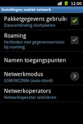 Samsung S6500D Galaxy Mini 2 - Netwerk - Handmatig netwerk selecteren - Stap 9