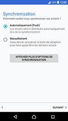 Sony Xperia X Performance (F8131) - E-mail - Configuration manuelle (outlook) - Étape 10