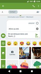 Sony Xperia XZ Premium - Android Oreo - MMS - envoi d'images - Étape 10