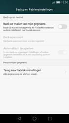 Huawei Ascend G7 - Device maintenance - Terugkeren naar fabrieksinstellingen - Stap 6