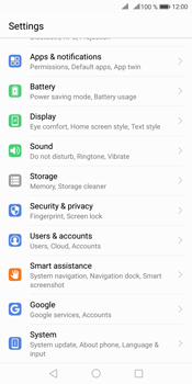 Huawei Mate 10 Pro - Device - Factory reset - Step 2