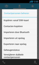 Huawei Ascend Y300 - Contacten en data - Contacten kopiëren van SIM naar toestel - Stap 5