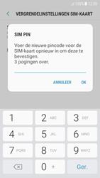 Samsung Galaxy A5 (2017) - Android Nougat - Beveiliging en ouderlijk toezicht - Hoe wijzig ik mijn SIM PIN-code - Stap 10