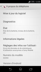 Sony D2203 Xperia E3 - Réseau - Installation de mises à jour - Étape 6