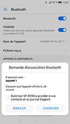 Huawei P8 Lite 2017 - Bluetooth - connexion Bluetooth - Étape 8