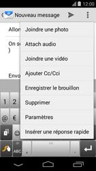 Acer Liquid E600 - E-mail - envoyer un e-mail - Étape 9