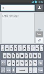 LG E460 Optimus L5 II - Mms - Sending a picture message - Step 4