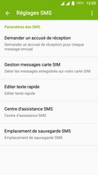 Wiko Lenny 3 - SMS - Configuration manuelle - Étape 7