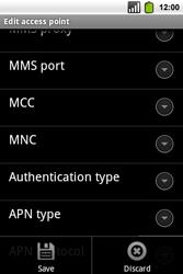Alcatel OT-991 Smart - Internet - Manual configuration - Step 14