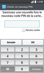 LG F70 - Sécuriser votre mobile - Activer le code de verrouillage - Étape 11