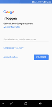 Samsung galaxy-j6-sm-j600fn-ds - Applicaties - Account aanmaken - Stap 5