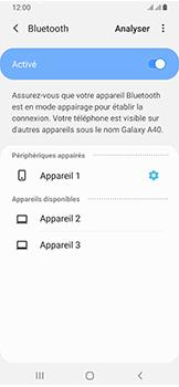 Samsung Galaxy A40 - Bluetooth - connexion Bluetooth - Étape 11