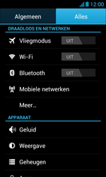 Huawei Ascend Y300 - Internet - Uitzetten - Stap 5