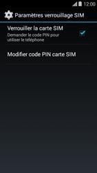 Bouygues Telecom Ultym 5 II - Sécuriser votre mobile - Personnaliser le code PIN de votre carte SIM - Étape 6