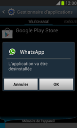 Samsung Galaxy S3 Mini - Applications - Supprimer une application - Étape 7
