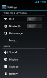 Acer Liquid Glow E330 - Network - Usage across the border - Step 4