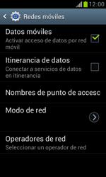 Samsung S7560 Galaxy Trend - Mensajería - Configurar el equipo para mensajes multimedia - Paso 6